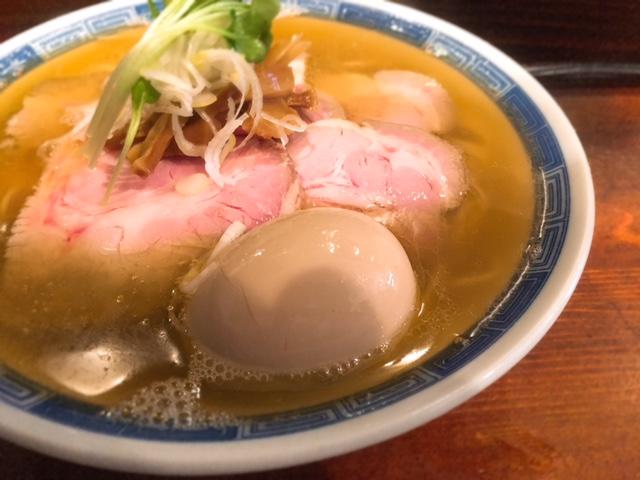 鴨出汁の中華そば!「しば田」(仙川)