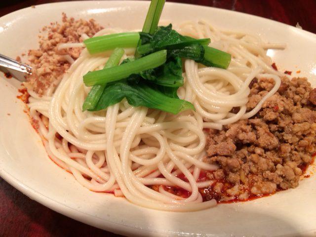 激辛汁なし担々麺を食す!「中国家庭料理 楊 2号店」(池袋)