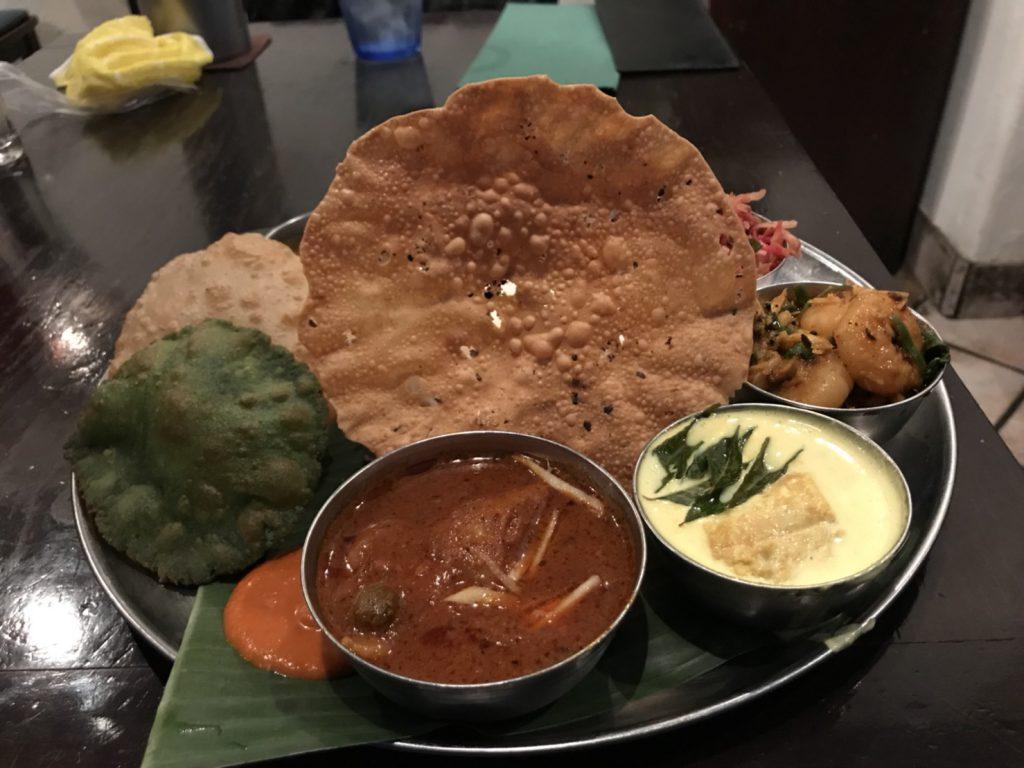 絶品南インド料理の数々!「ダバ インディアン」(京橋)