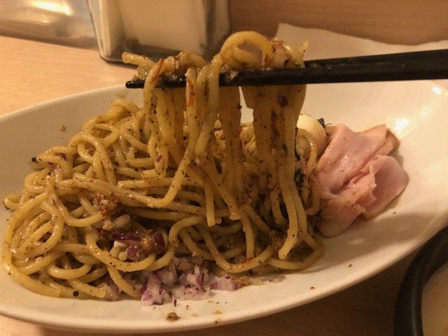 新感覚の濃厚煮干パスタ!「sisi煮干啖(sisiNibotan)」(新日本橋)