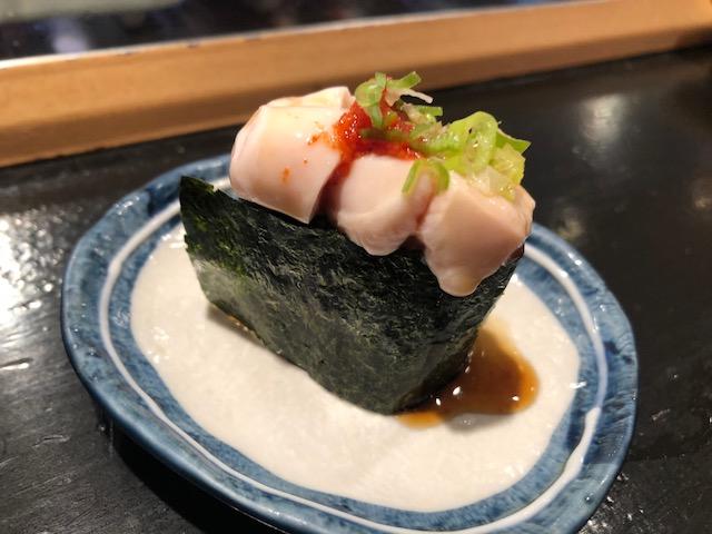 私史上No. 1の立喰い寿司屋!「まぐろ人 御徒町出張所」