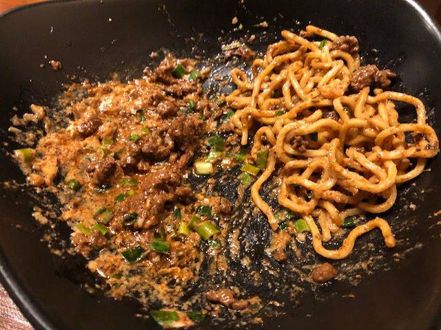 ランチの担々麺と汁なし担々麺を堪能!「虎穴(フーシュエ)」(馬喰横山)