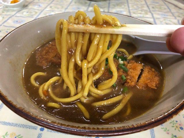 ここでしか食べられない!うこん麺の八重山そば!「のりば食堂」(石垣島)