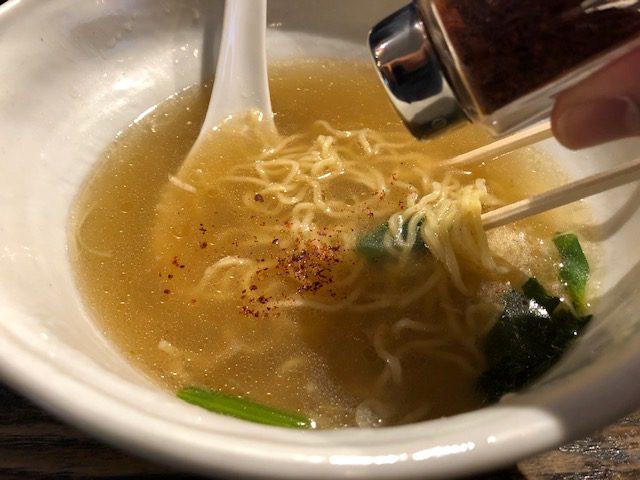 塩と醤油の二種類を堪能!「RAMEN CIQUE(ラーメン チキュウ)」(南阿佐ヶ谷)