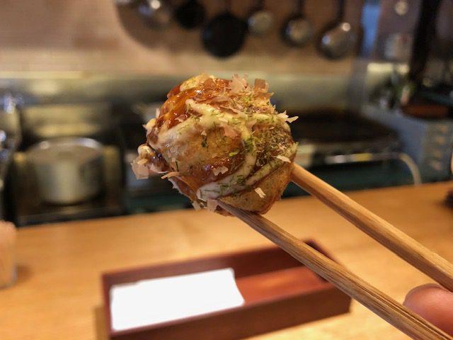 ワインとたこ焼きのマリアージュ!「たこりき」(大阪・谷町)