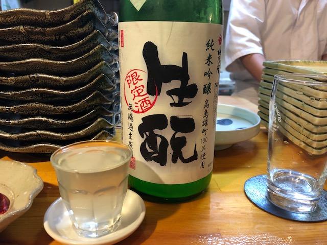 鮨が楽しめる高級立ち飲み屋!「たちのみいしまる」(埼玉・大宮)