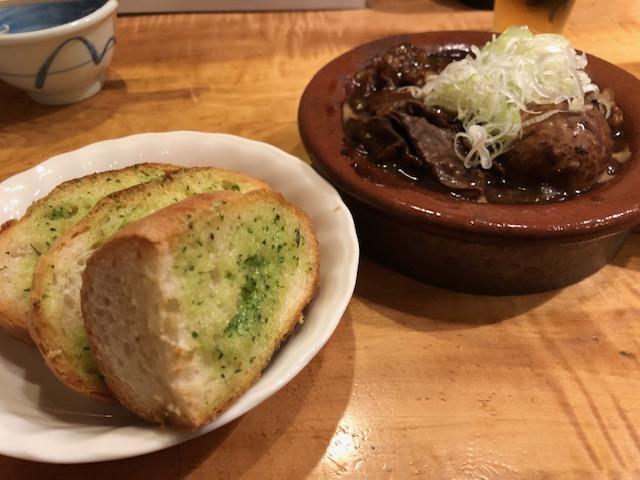煮込み&ガーリックトースト必食!「山利喜 本館(やまりき)」(森下)