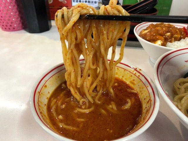 今日は冷やし味噌ラーメン10辛!!「蒙古タンメン中本 草加店」