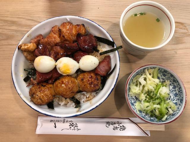 ランチの焼鳥丼が名物!「栄一(えいいち)」(京橋)へ初めて行って来た