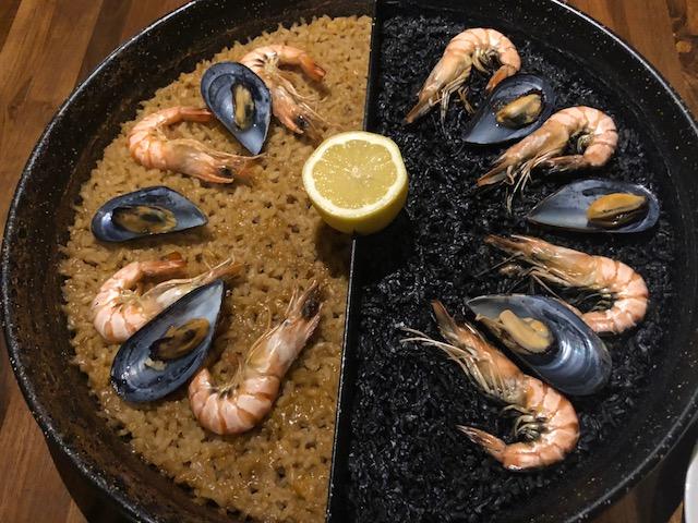 二色パエリアが面白い!「スペイン料理Pablo(パブロ)」(中目黒)