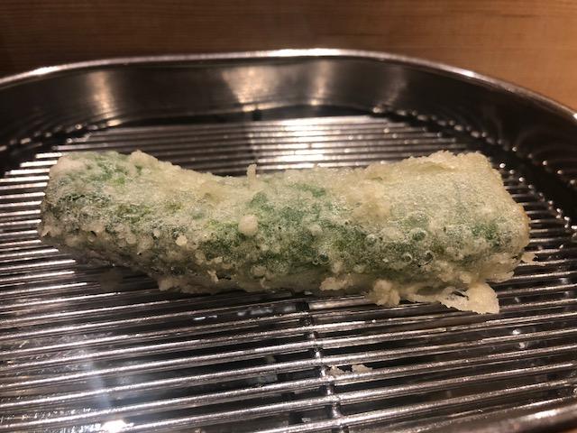 ランチのおまかせコースを堪能!「てんぷら深町」(京橋)