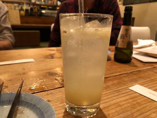 明太子アヒージョと蕎麦を堪能しました!「じじ」(中目黒)