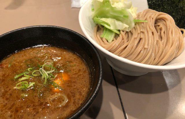 完食!女性に人気のエビ玉つけ麺!「つけ麺 五ノ神製作所 新宿店」