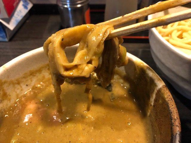 カレーつけ麺を堪能してきた!!「つけ麺 陽」(堀切菖蒲園)