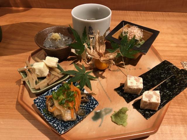 鮨屋の店主と「酒 秀治郎」(恵比寿)で日本酒をとことん楽しむ!