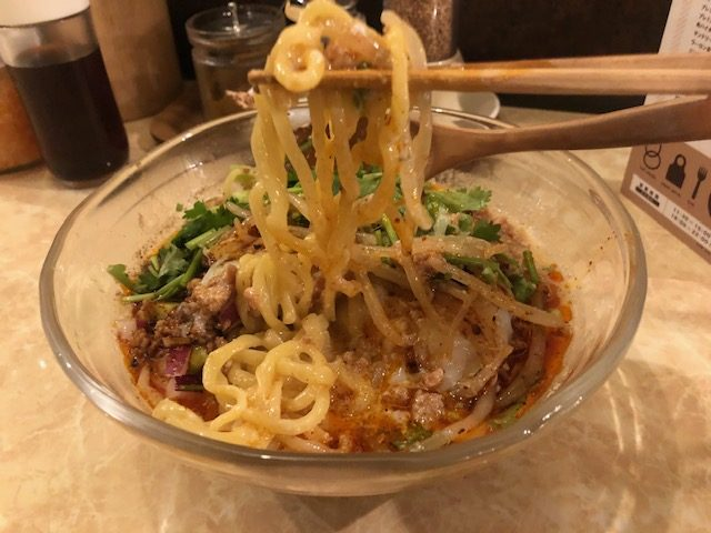 限定の冷やしタンタン麺を食べる!「鶏ポタ ラーメン THANK」(大門)