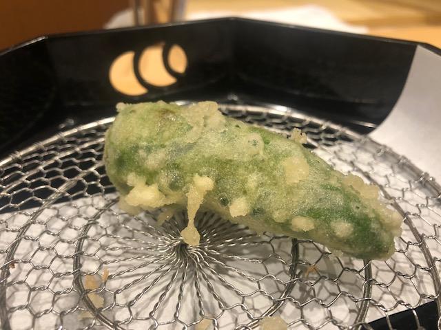 通うほどに美味しさが上がってくる天ぷら屋!「旬恵庵 あら垣」(新富町)