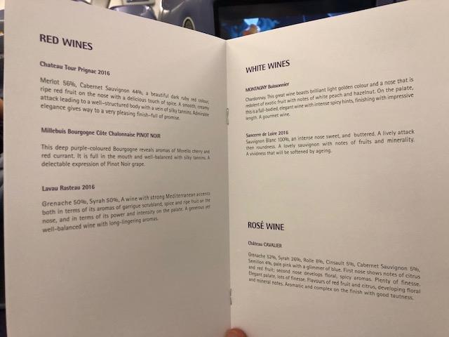 タイ国際航空(A670)ビジネスクラスの機内食やサービスを堪能する