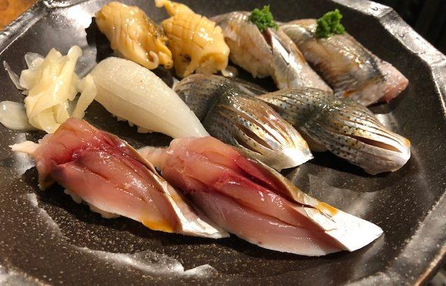 本格江戸前鮨が立喰いスタイルで楽しめる!「にぎにぎー中野本館」