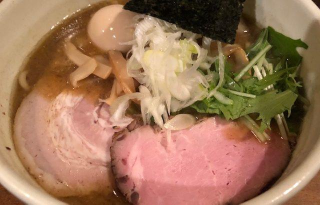 濃厚出汁の二種類の麺とご飯を堪能する!「なな蓮」(日本橋・三越前)