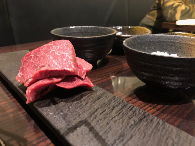 赤身肉が旨い焼肉屋!「にくがとう 」(人形町)へ久しぶりの訪問