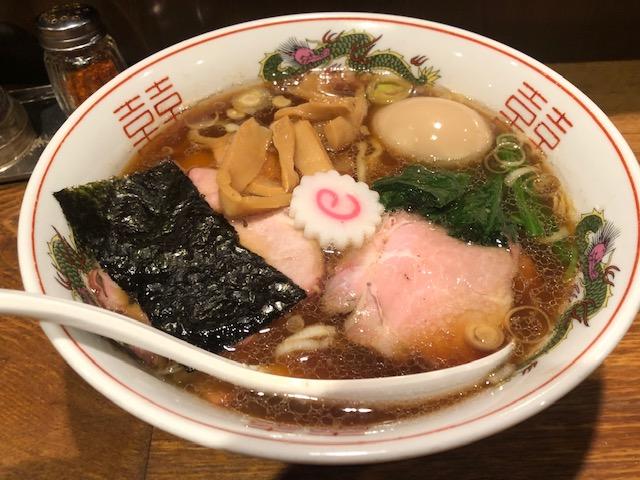 名物の生姜醤油ラーメン完食!「神保町 可以 (じんぼうちょう かい)」