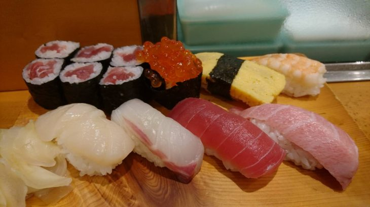女子も入りやすい大好きな町寿司!「寿司富」(小伝馬町)