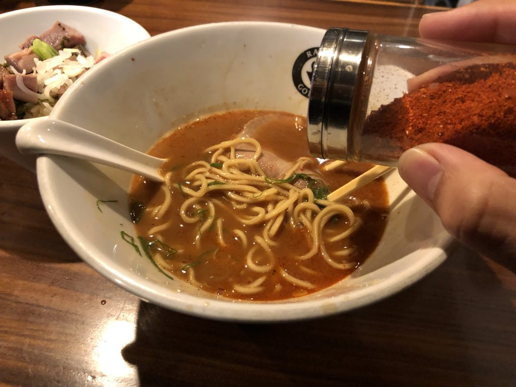 味玉が凄く旨いラーメン屋!「RAMEN GOTTSU(ごっつ)」(練馬)