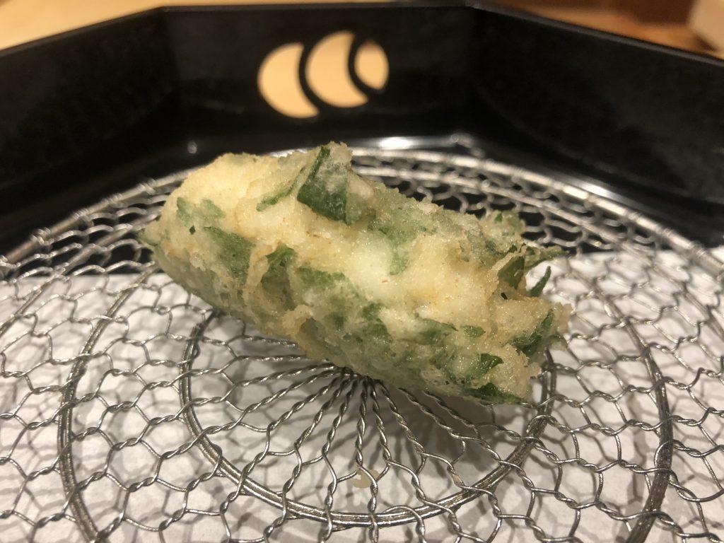 一品料理のクオリティが高い!「あら垣」(新富町)で久しぶりに天ぷらを食す