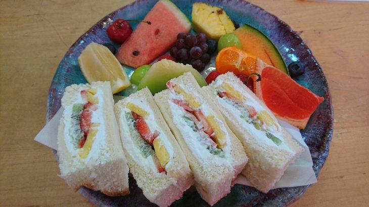 フルーツ盛りが豪華過ぎ!有名社長のお店「トップフルーツ八百文」(桜山駅)