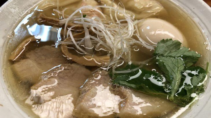 うどんのようなラーメン!?「純手打ち 麺と未来」(下北沢)