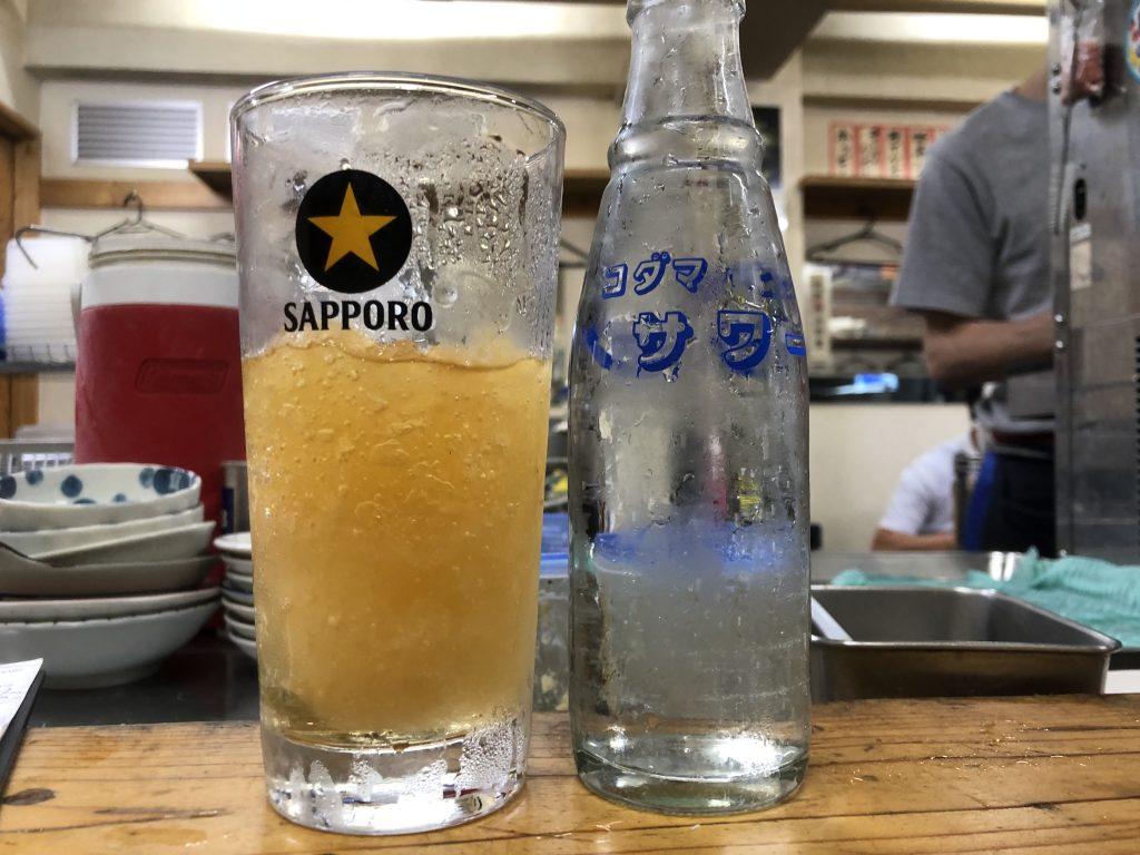 ガッツリ飲みたくなるけど我慢!!「もつ焼 でん」(中目黒)