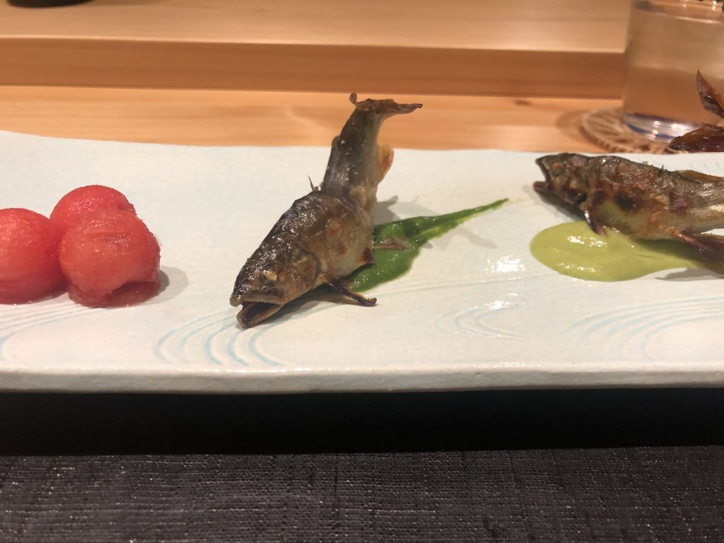ミシュラン獲得!「御料理 まつ山」(北九州・黒崎)へ初訪問