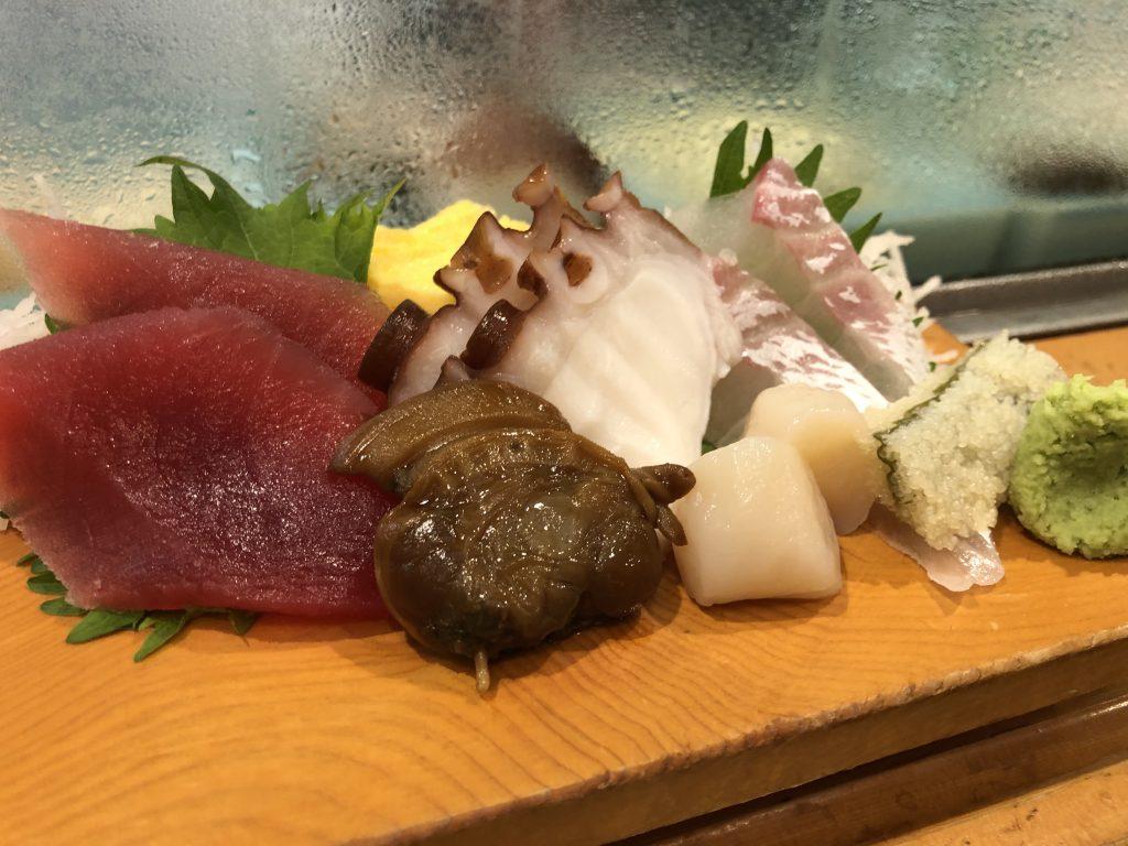 蟹たっぷりのポテトサラダが旨い!「寿司富」(小伝馬町)