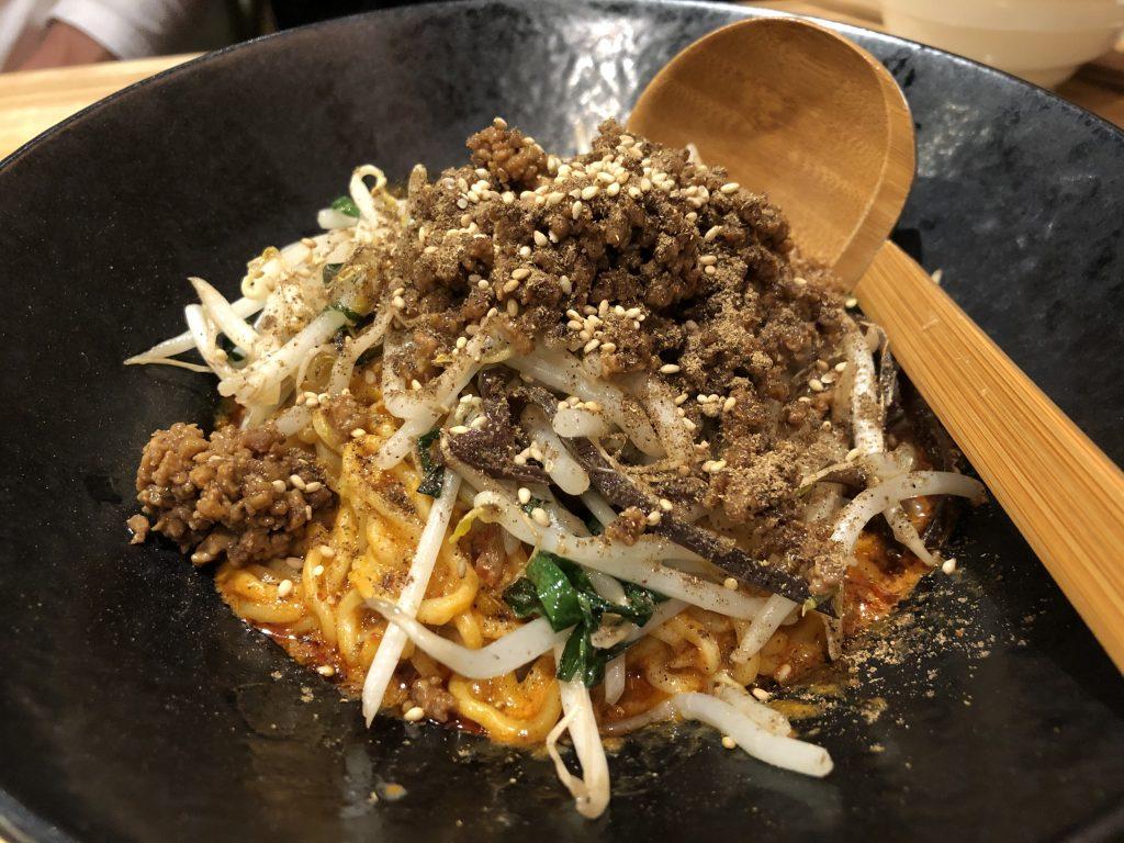 〆の坦々麺が最高!「かつぎや」(小川町)へ、再訪問