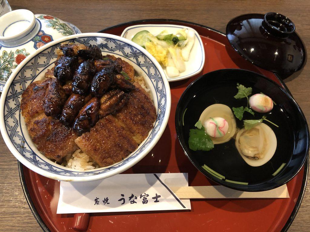 予約必須!行列覚悟!「うな富士」(名古屋・鶴舞)肝入り鰻丼