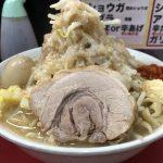 味玉ラーメン(麺量300g)を堪能する!「用心棒」(東大前・本郷)